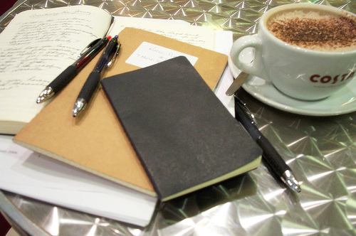 Coffee and Moleskine